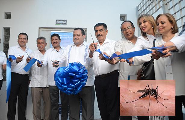 Inauguran el insectario de la Secretaría de Salud