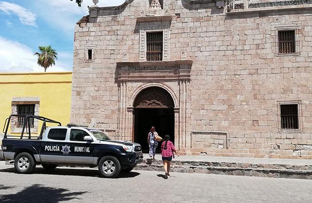 En Loreto intentan robar en la parroquia