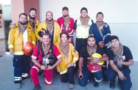 rescatistas sudcalifornianos
