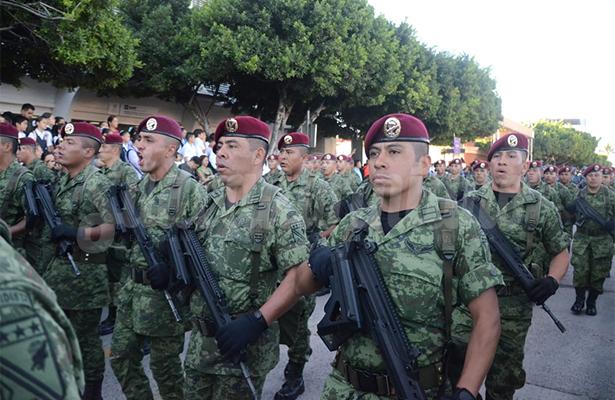 [Videogalería] Refuerza el Ejército su presencia en el estado