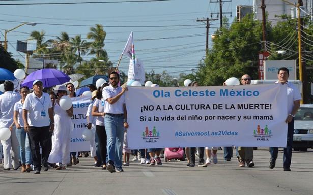 [Videogalería] Marcha en Pro de la Vida en la ciudad de La Paz