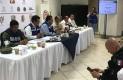Se reúne Protección Civil BCS por Sergio