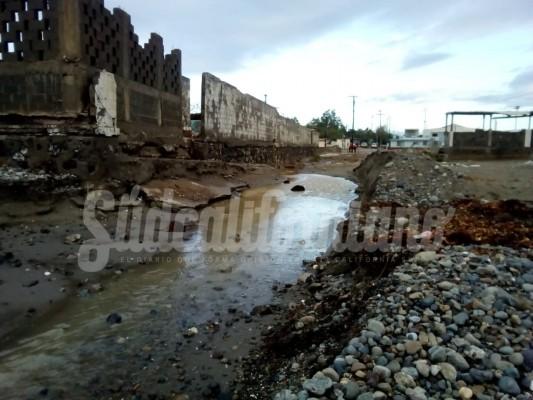 Reporte de daños tras el paso de Sergio al norte del estado