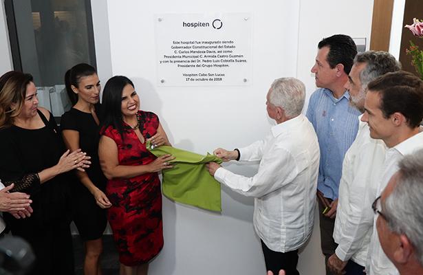 Inauguran hospital en Cabo San Lucas