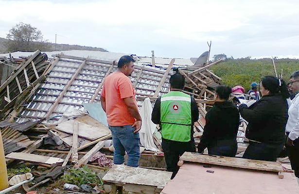 Protección Civil y regidores evalúan daños en Comondú