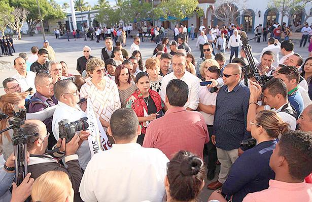 Bajas de personal son conforme a derecho, asegura la presidenta municipal de Los Cabos