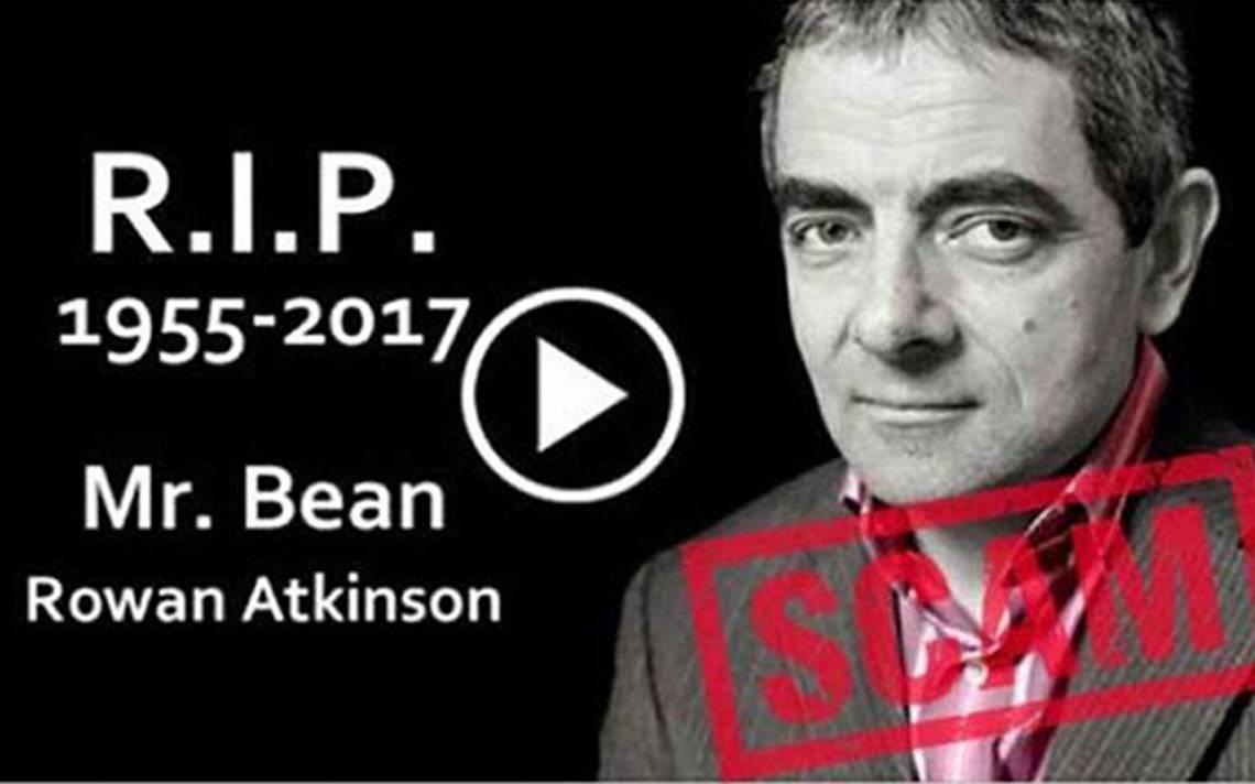 ¿Mr Bean está muerto? Cuidado esta fake news podría infectar tu dispositivo