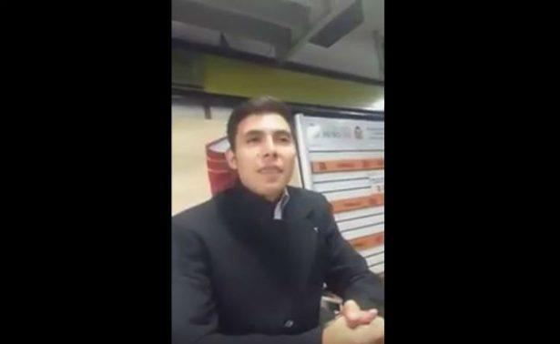 Joven ebrio dice ser secretario de Mancera para intimidar a policías del Metro