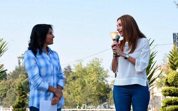 Alejandra Barrales nombra a Laura Ballesteros como encargada de su proyecto de movilidad