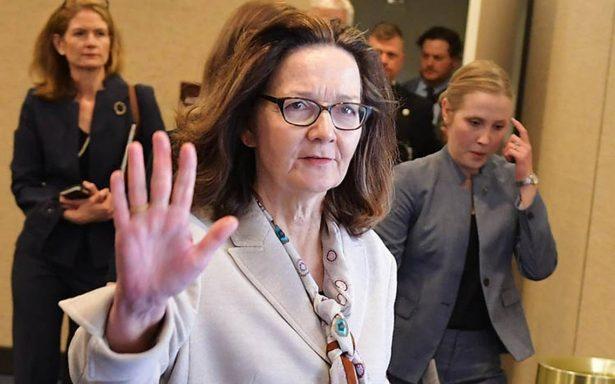 Senado de EU confirma a Gina Haspel como directora de la CIA
