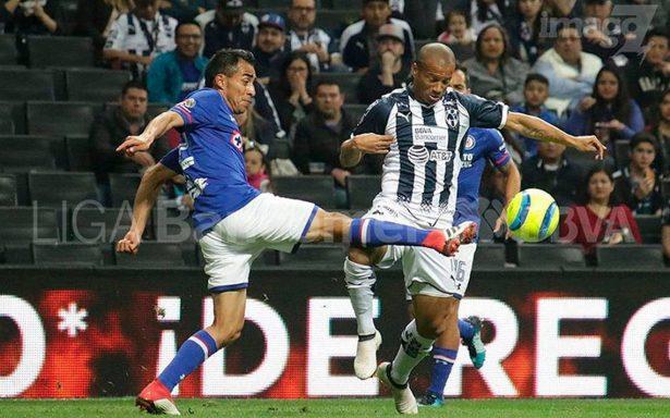 Cruz Azul rescata empate en visita a Rayados