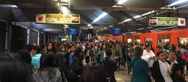 Falla en sistema de frenado del Metro ocasiona desalojo en Línea 3