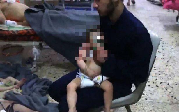 Al menos 70 muertos deja ataque químico en ciudad siria de Duma