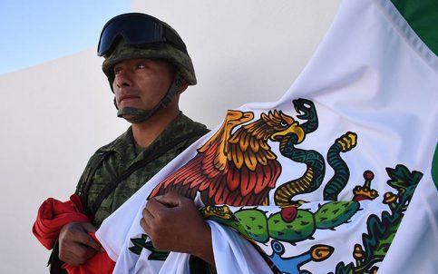 Ejército mexicano cumple 105 años de jugársela por su gente
