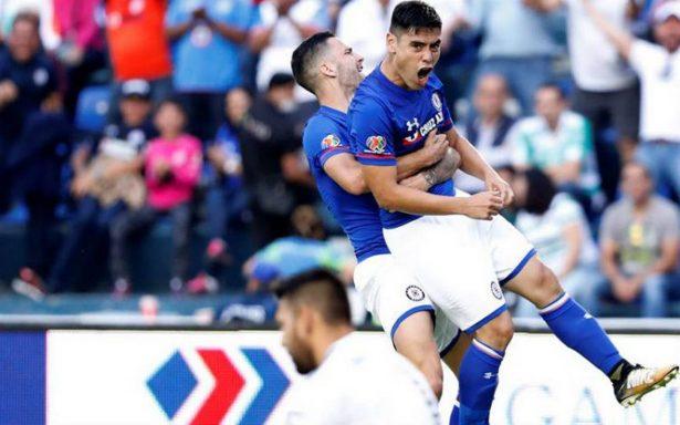 Cruz Azul vence a Santos y es tercero general