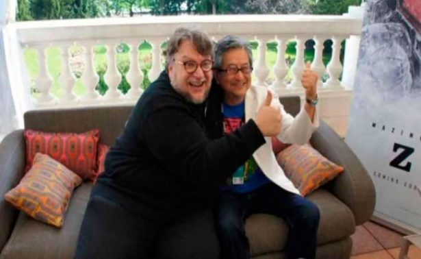 Un emocionado Guillermo del Toro conoce a su ídolo, el creador de Mazinger Z