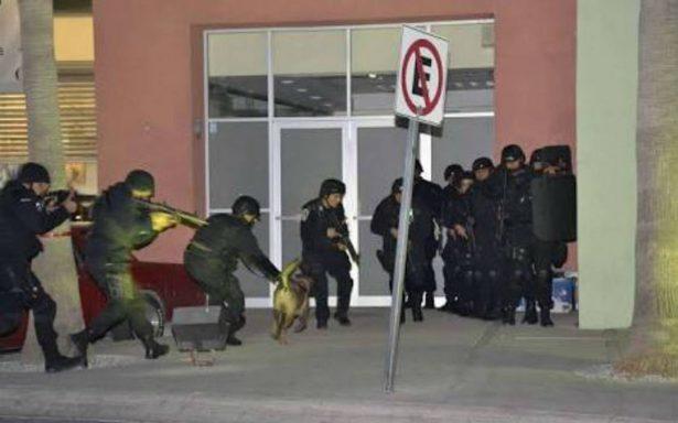 Simulacro de robo masivo a bancos en San Luis Potosí causa pánico