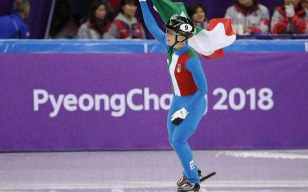 Con dramático final, Arianna Fontana gana la primera medalla de oro para Italia en PyeongChang 2018