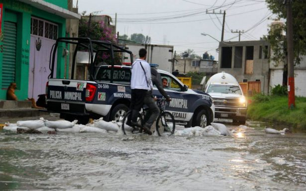 Descartan brotes epidemiológicos por inundaciones en Cuatitlán Izcalli