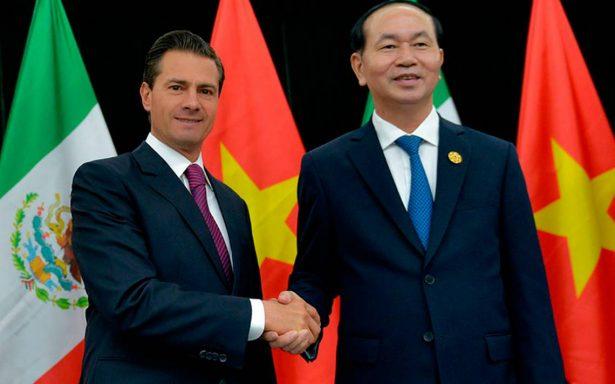 México y Vietnam coinciden en fortalecer relaciones comerciales