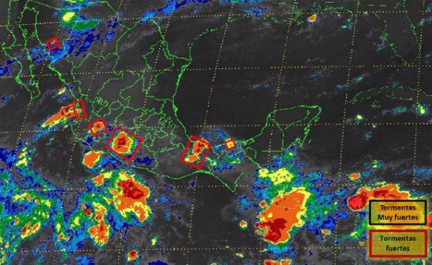 Se forma la depresión tropical Ocho sin afectar a costas mexicanas
