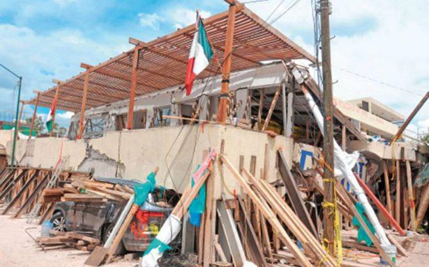 A un año del sismo, se reportan 483 inmuebles en riesgo en la CdMx