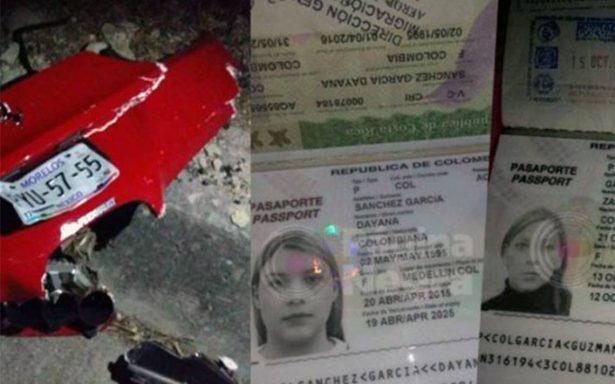 Mueren las dos mujeres colombianas que iban abordo del auto de #LordFerrari