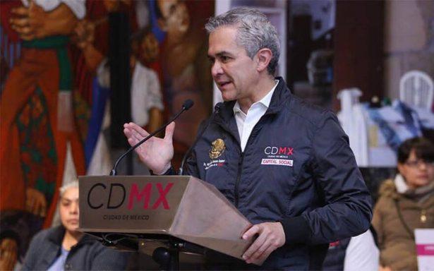 Liberar 11 mil reos es una carga fuerte para la CDMX, reconoce Mancera