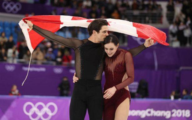 """Al ritmo de """"Moulin Rouge"""", Canadá se lleva oro en patinaje artístico en Pyeongchang 2018"""