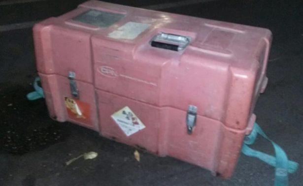 Encuentran en Celaya fuente radioactiva sustraída en Querétaro