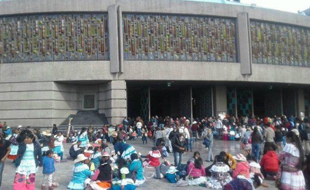 Peregrinos de Toluca dejan hoy la Basílica de Guadalupe