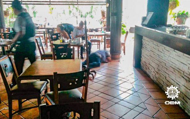 Asesinan a director de Presupuesto de Capufe en restaurante de Acapulco