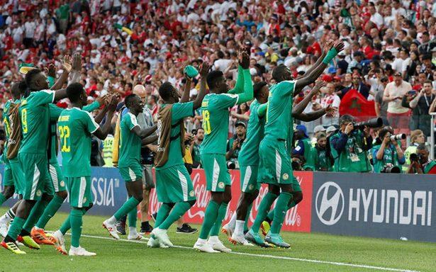 Senegal da otro batacazo y vence 2-1 a Polonia