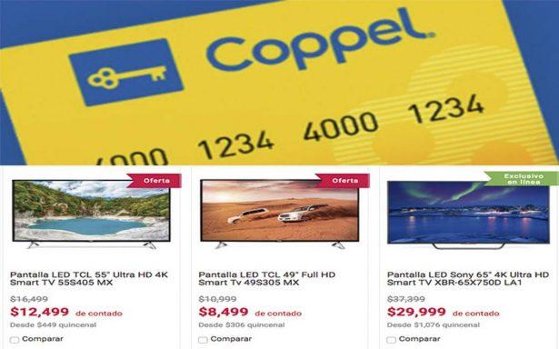 Coppel aumenta ventas en línea 90% de enero a octubre de 2017