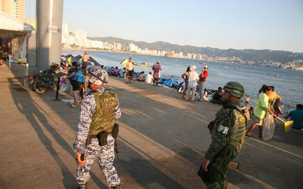Edil pide al Presidente reforzar seguridad para Acapulco