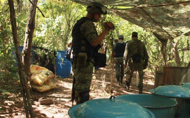 Aumenta producción de metanfetamina en México