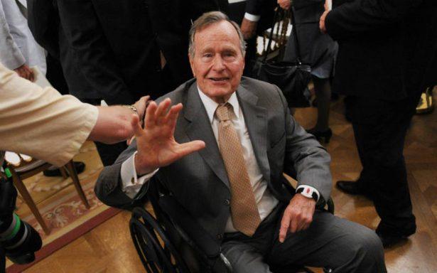 Expresidente de Estados Unidos George Bush fue hospitalizado