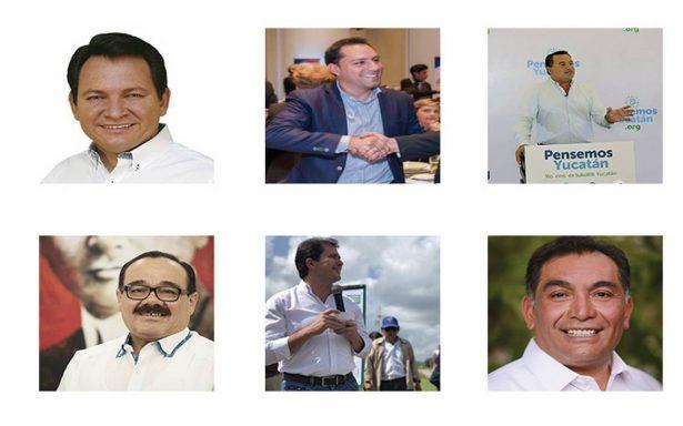 Once aspirantes codician ser gobernadores de Yucatán