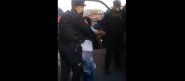 Por presunto robo, niño es detenido por Fuerza Civil en Monterrey