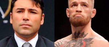 De La Hoya decidido a reaparecer para ir contra McGregor