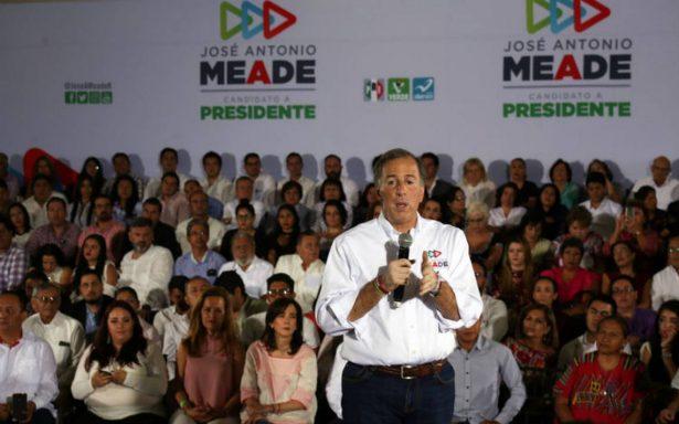 Meade promete ventanilla única y mejorar créditos para las cosechas