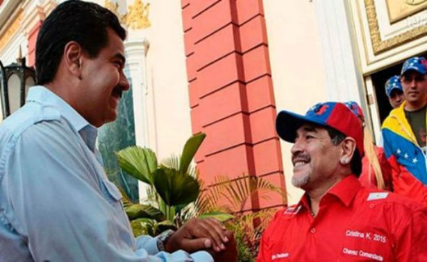 """Maradona quiere ser """"soldado"""" de Maduro"""
