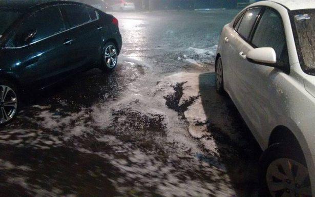 Intensa lluvia y granizada deja estragos en 9 delegaciones de la CDMX