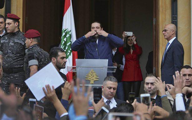 Primer ministro libanés cambia de idea acerca de su renuncia