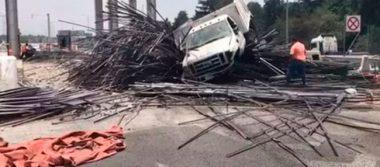 Camiones de carga ya no podrán circular en la autopista Lerma-Marquesa