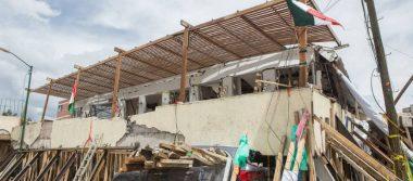 Sheinbaum pide peritaje en Colegio Rébsamen antes de demolición