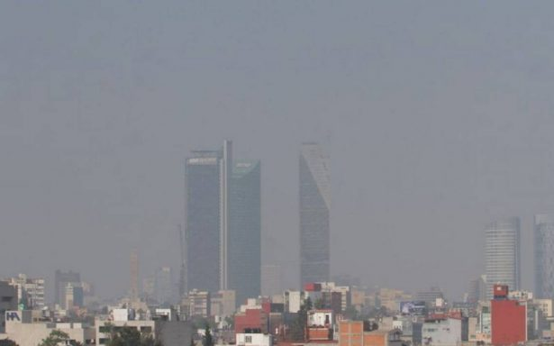 Hay mala calidad del aire en el norte y centro del Valle de México