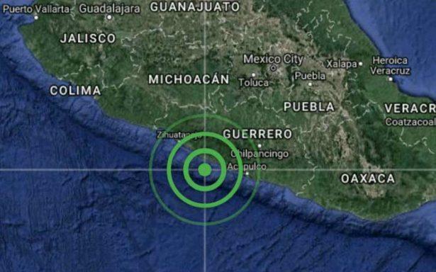 Se registra sismo de magnitud 5.0 en Ometepec, Guerrero
