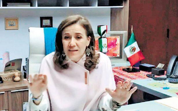 Zavala renuncia a financiamiento; regresará al INE 7 millones de pesos