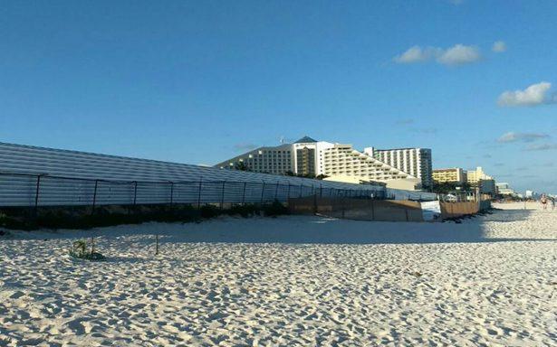 Suspenden en Cancún construcción del hotel Gran Solaris.